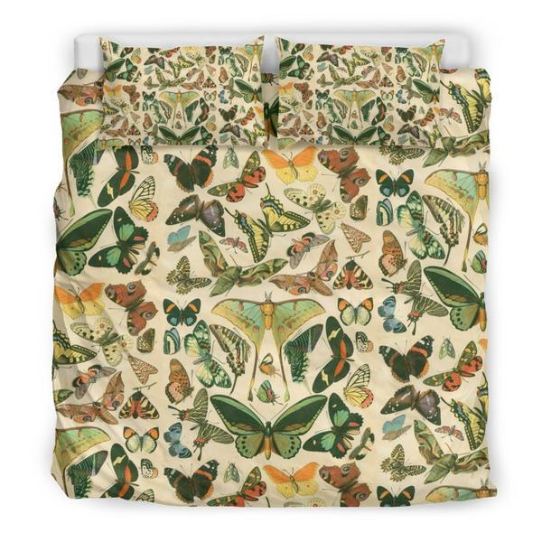 Bedding set - Vintage Butterflies