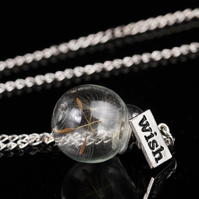 Dandelion seed Necklace for Wish - gopowear.com