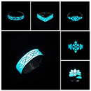 Mayan Mysterious Night Light Glowing Stone Rings - gopowear.com