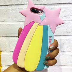 Tedi Sim Sim Couple Starfish Phone Cases with Card Slot For iPhone - gopowear.com