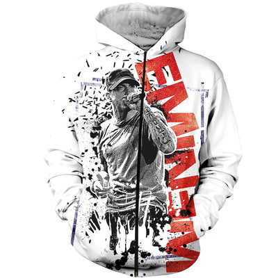 3D All Over Printed Eminem Singer Shirts and Shorts SCDK111001