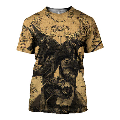 3D All Over Printed Anubis And Osiris  Shirts and Shorts - gopowear.com