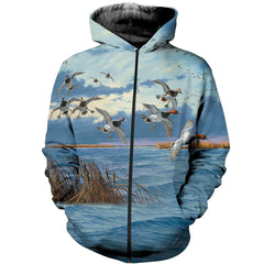 3D All Over Printed Duck Hunting Shirts and Shorts