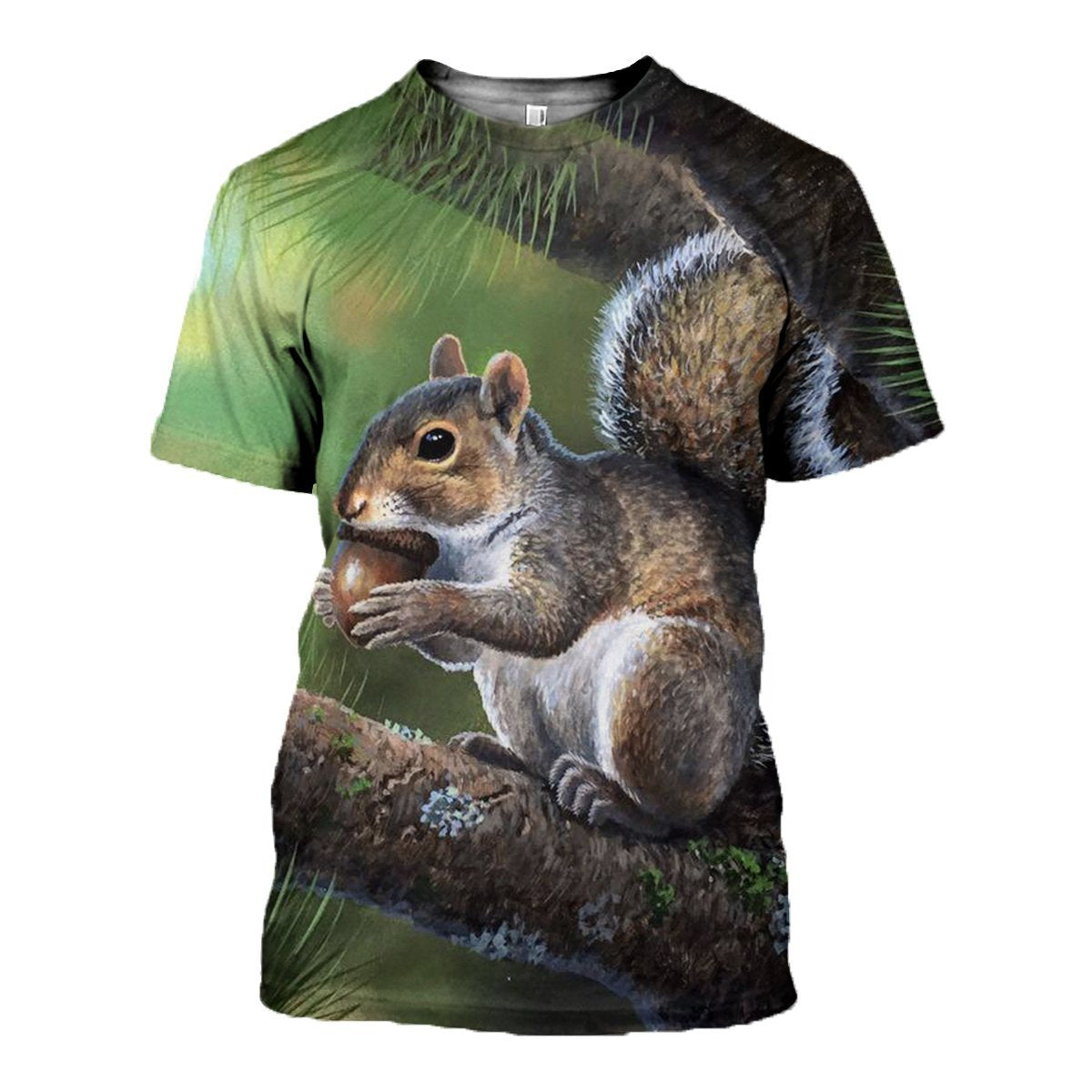 3D printed Grey Squirrels Painting Clothes
