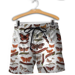 3D All Over Printed Caterpillar Shirts and Shorts
