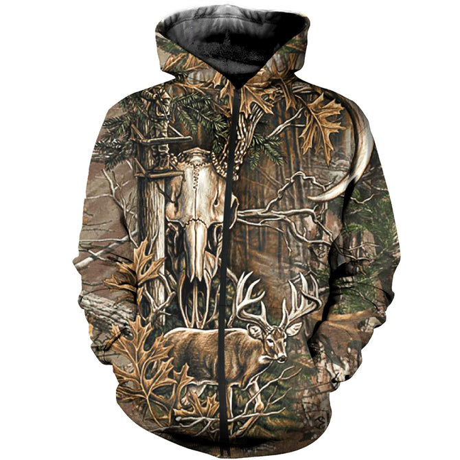 aab20db93f5dc 3D All Over Printed Deer Hunting Camo Shirts And Shorts – gopowear.com