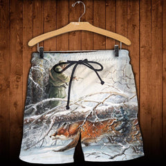 3D All Over Printed Fox Hunting and Snow Clothes