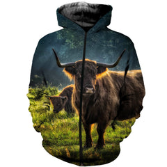 3D printed Highland Cattle Clothes