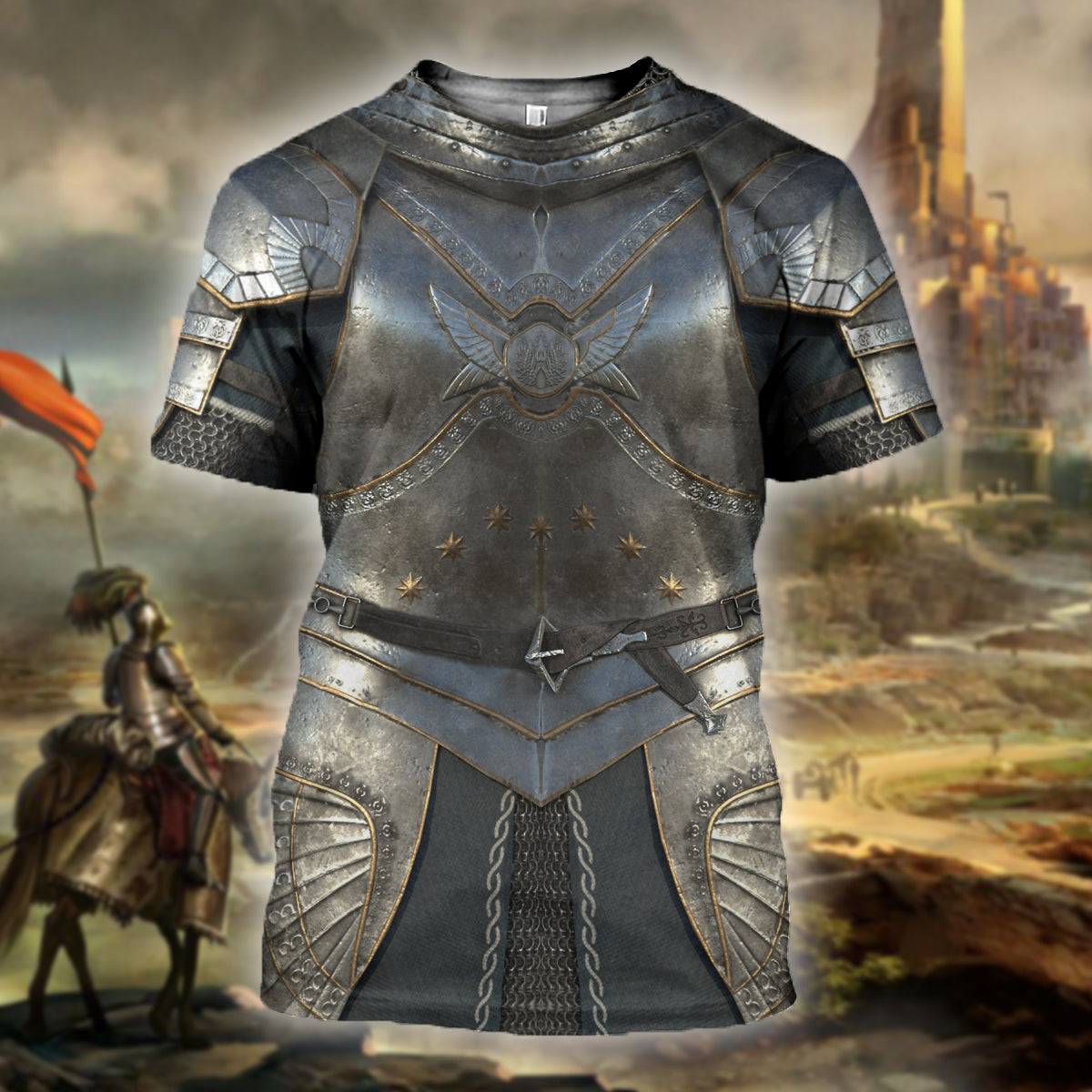 3D Printed Knight Armor Tops SCAK190709