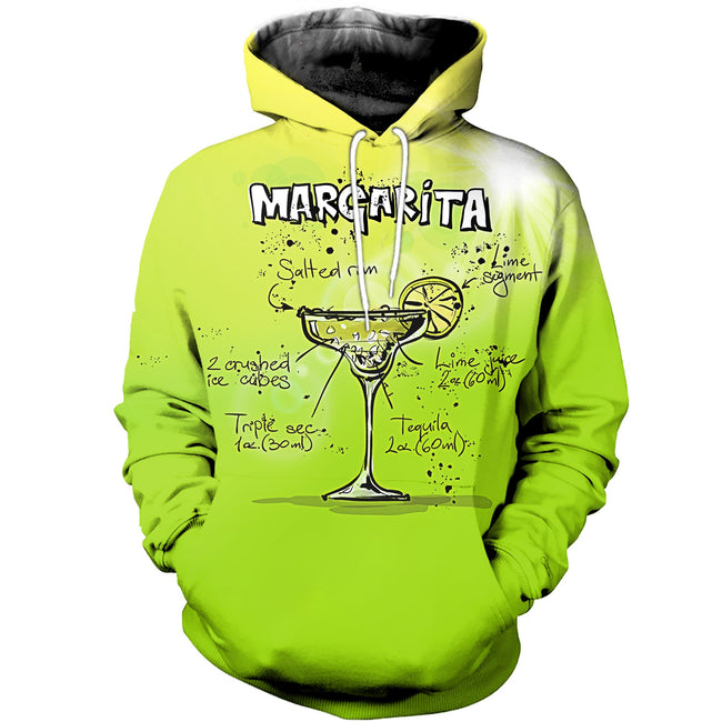 3D printed Martini cocktail T-shirt Hoodie SCTL180404