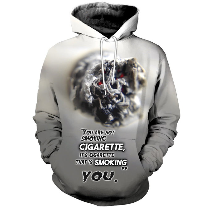 3D printed Cigarette T-shirt Hoodie SCTL170411