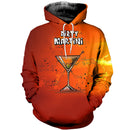 3D printed Martini cocktail T-shirt Hoodie SCTL180401
