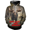 3D printed Hurting Moose T-shirt Hoodie SCUL070516