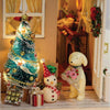 DIY Christmas Miniature Wooden Dollhouse - gopowear.com