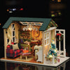 DIY Christmas Miniature Wooden Dollhouse