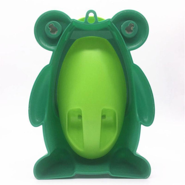 Cute Frog shape urinal for baby boy