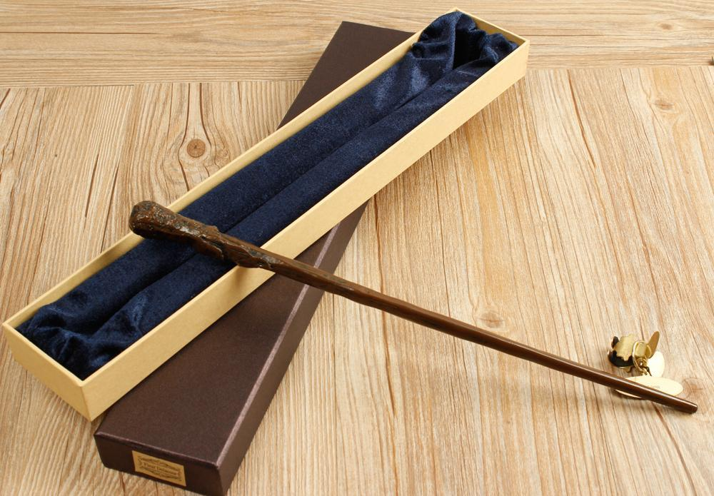 Cosplay Metal Core Weasley Magic Wand with Box - gopowear.com