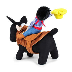 Cowboy Riding-horse Dog Costume