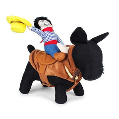 Cowboy Riding-horse Dog Costume - gopowear.com