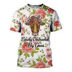Full Printed Cows Clothes