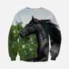 3D printed Black horse Clothes