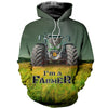 3D printed Frent Tractor  T-shirt Hoodie