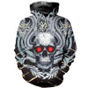 3D printed Skull And Dragon T-shirt Hoodie ADAK090502