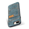 Cowboy Jean Case For iPhone 7 8/ Plus With Card Holder - gopowear.com