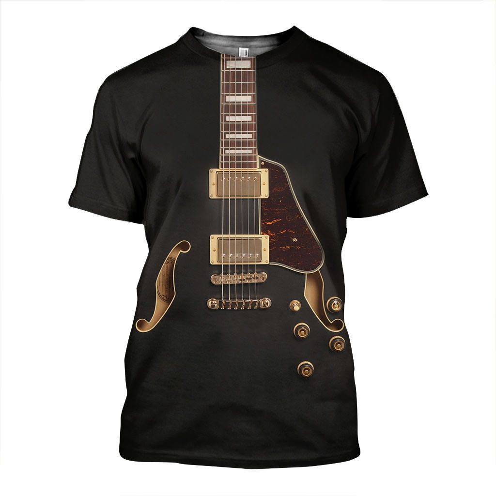 3D All Over Printed Electric Guitars Art Shirts and Shorts