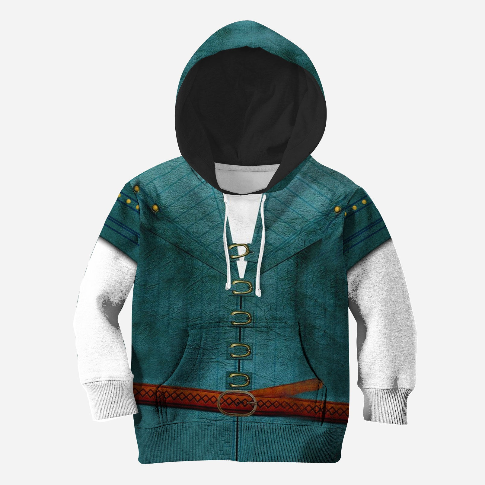 Flynn Rider 3D All Over Printed Shirts For Kids