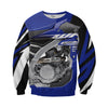 Yamaha WR450F Motor 3D All Over Printed Shirts for Men and Women