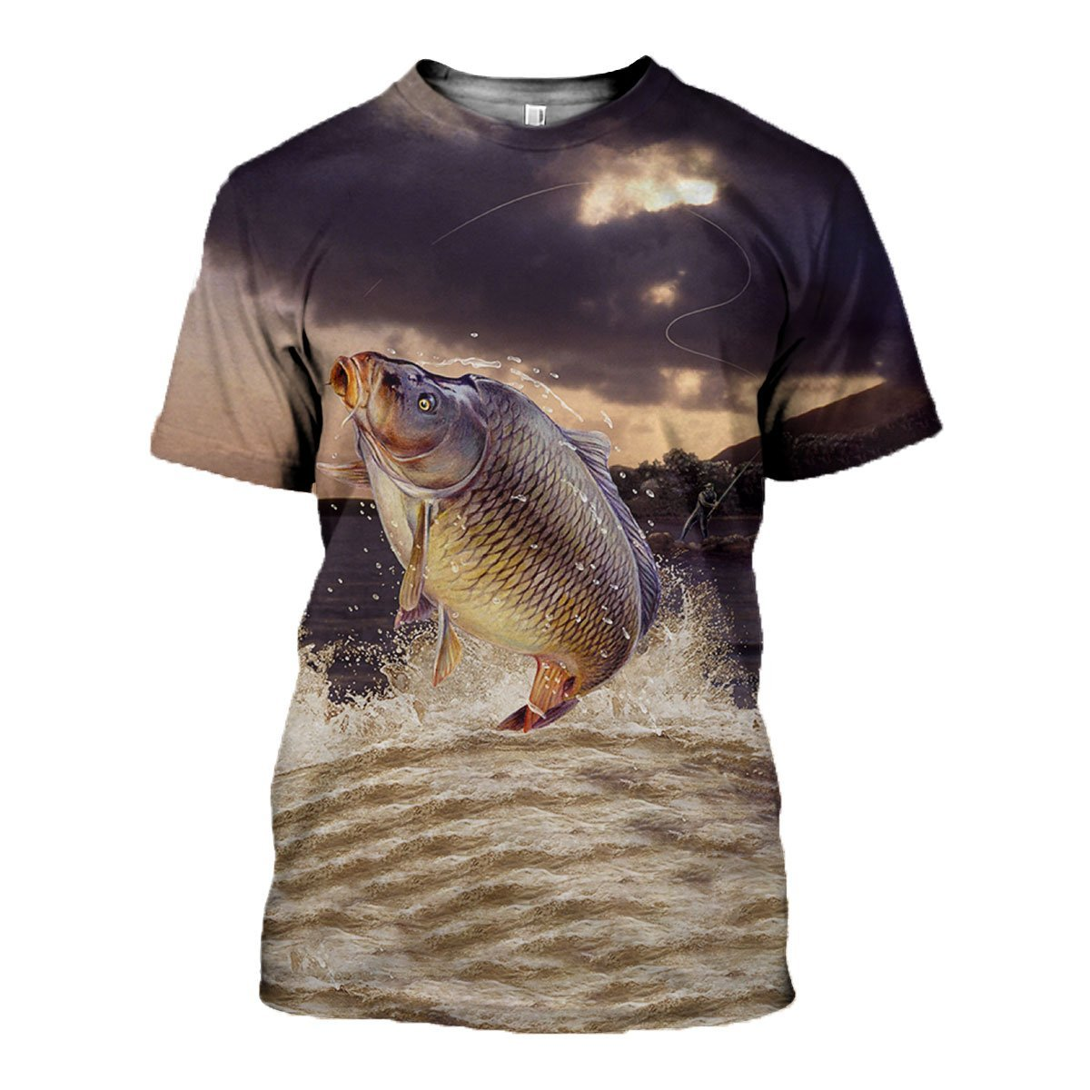3D All Over Printed Carp Fishing Shirts and Shorts