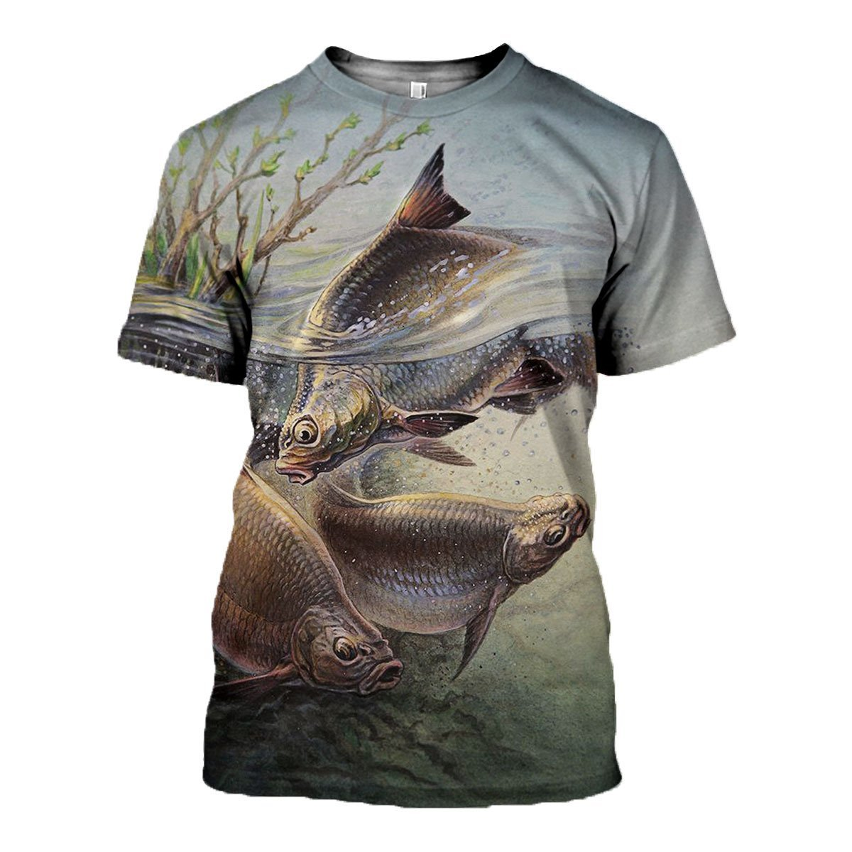 3D All Over Printed Art Fishing Shirts and Shorts
