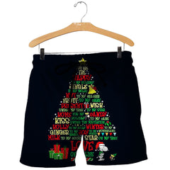 3D All Over Printed Christmas Shirts And Shorts