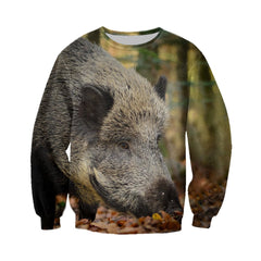 Full Printed Wild Boar Clothes