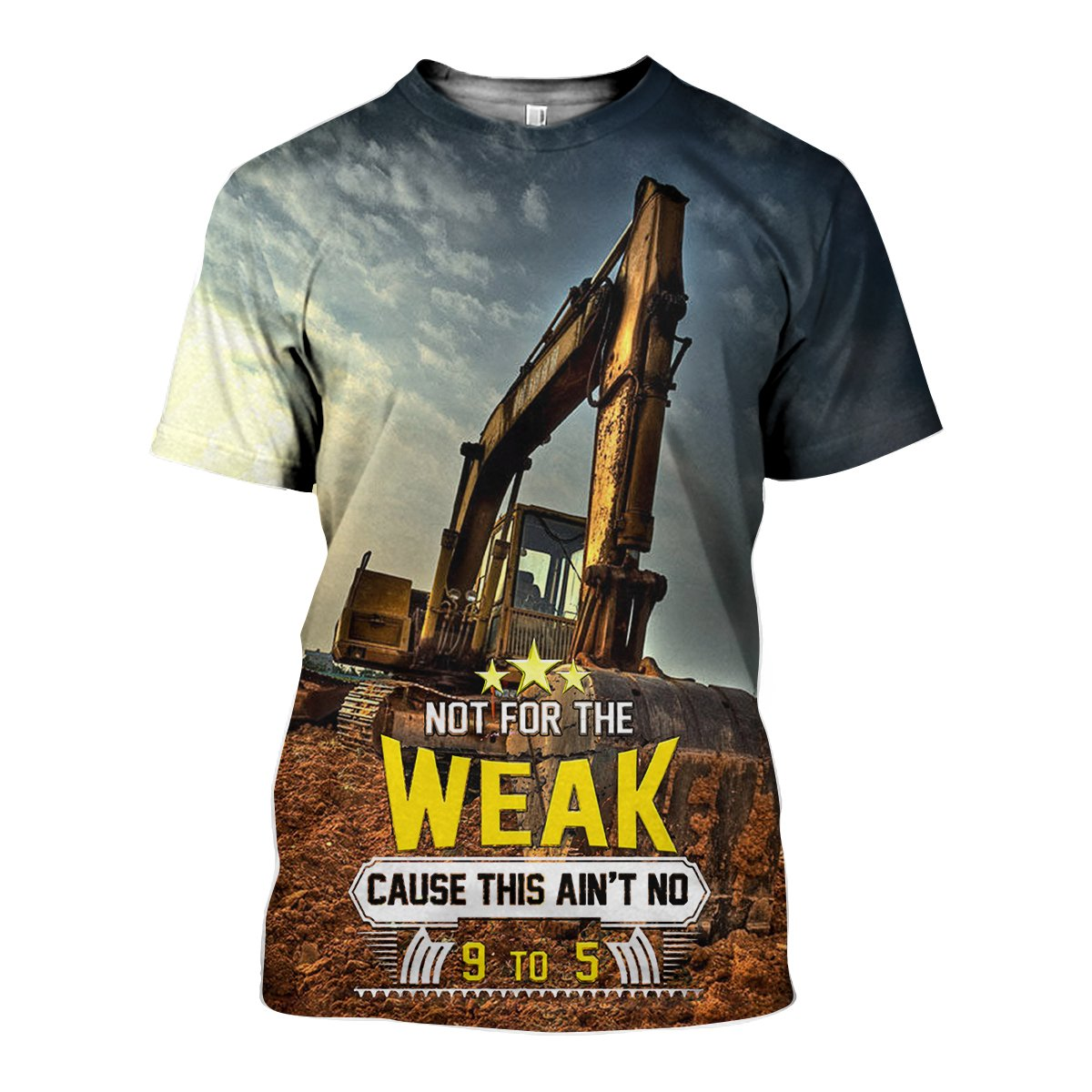 3D All Over Printed Excavator Shirts and Shorts