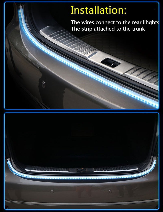 THE FLOW LED STRIP TRUNK LIGHT - gopowear.com