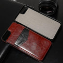 Premium Vertical Flip Card Holder Leather Case For iPhone.. - gopowear.com