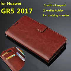 Ultra Thin Wallet Flip Cover Case for Huawei - gopowear.com