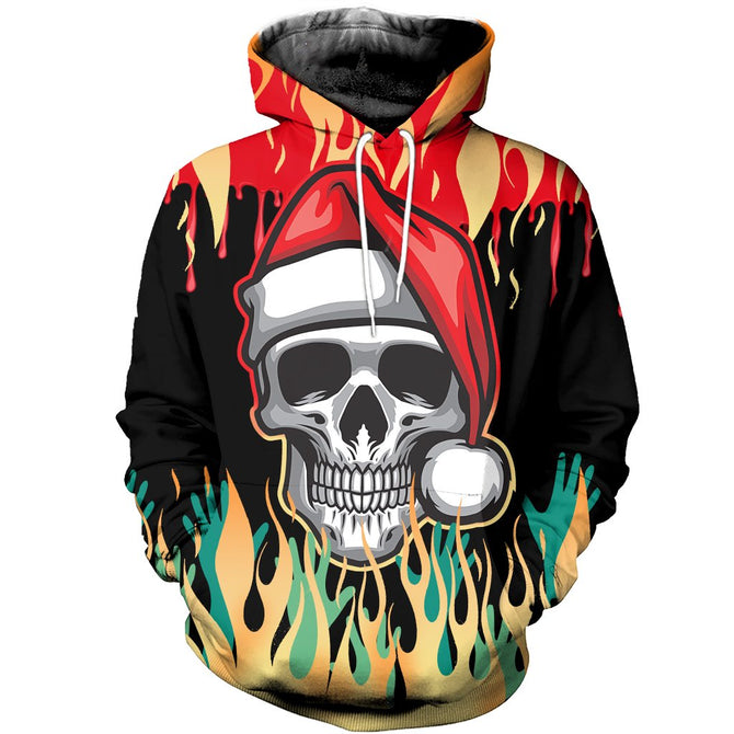 3d All Over Printed Heavy Metal Ugly Christmas Shirts And Shorts