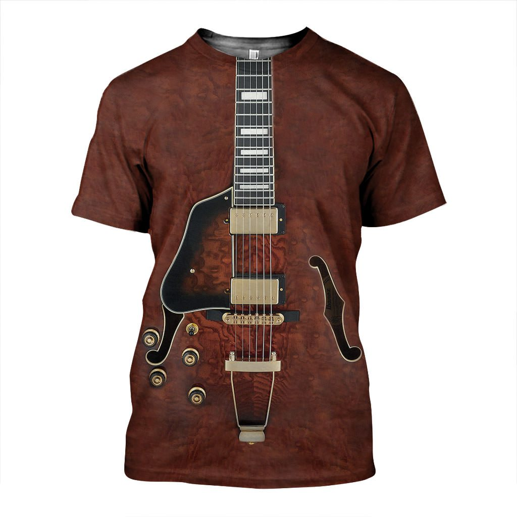 3D All Over Printed Electric Guitars Art Shirts and Shorts SCTH121119