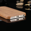 Vintage Wood Pattern Leather Cases For iPhone - gopowear.com