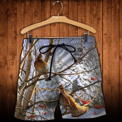 3D All Over Printed Grouse Shirts And Shorts