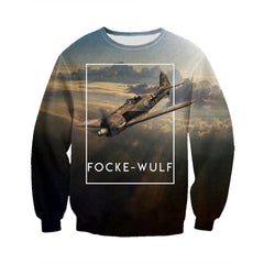 3D All Over Printed Focke-Wulf Shirts And Shorts