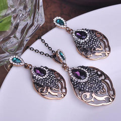 Fashion Turkish Bijuterias Jewellery Sets J1039 - gopowear.com