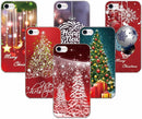 Merry Christmas Back Skin Cover For iPhone - gopowear.com