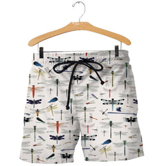 3D All Over Printed Dragonfly Shirts And Shorts