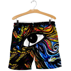 3D All Over Printed Eye of Horus painting Shirts And Shorts