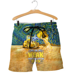 3D All Over Printed Heavy Equipment Shirts and Shorts