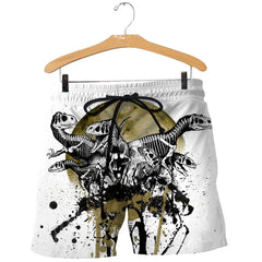 3D All Over Printed Dinosaurs Art Shirts and Shorts